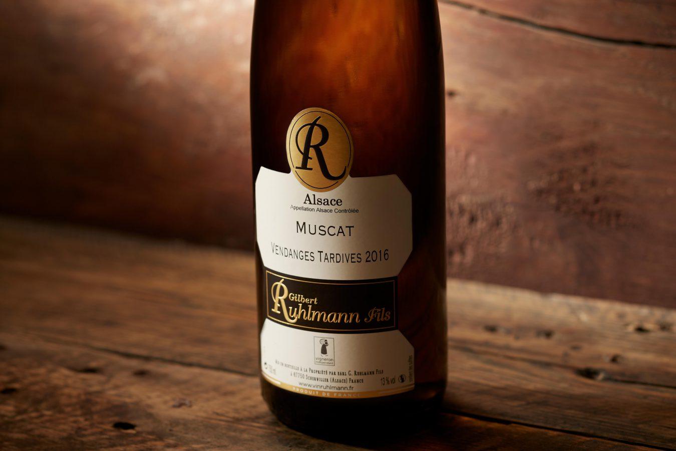 Bouteille vins Ruhlmann Alsace