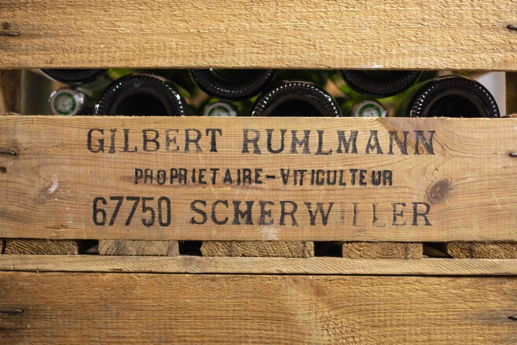 Cagette vins Ruhlmann Alsace