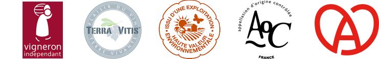 Vigneron indépendant haute valeur environnementale et autres distinctions